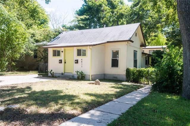 4611 Avenue H, Austin, TX 78751 (#4185251) :: Lucido Global