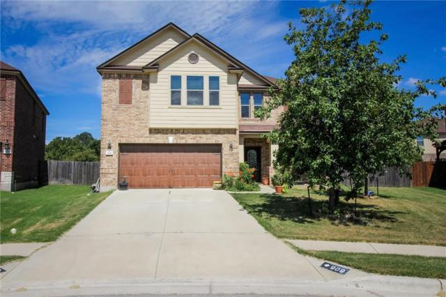 909 Lily Pad, Leander, TX 78641 (#4186479) :: The ZinaSells Group