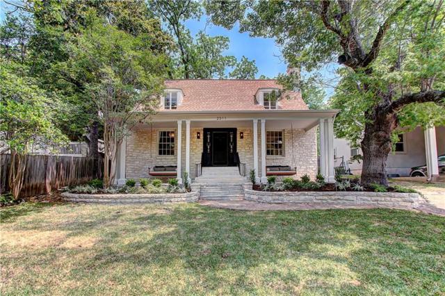 2311 Longview St, Austin, TX 78705 (#4186598) :: Watters International