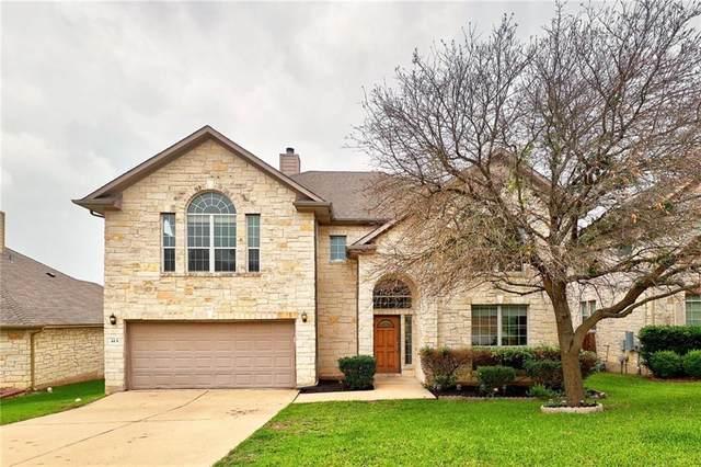 415 Clear Creek Cv, Cedar Park, TX 78613 (#4187560) :: Papasan Real Estate Team @ Keller Williams Realty