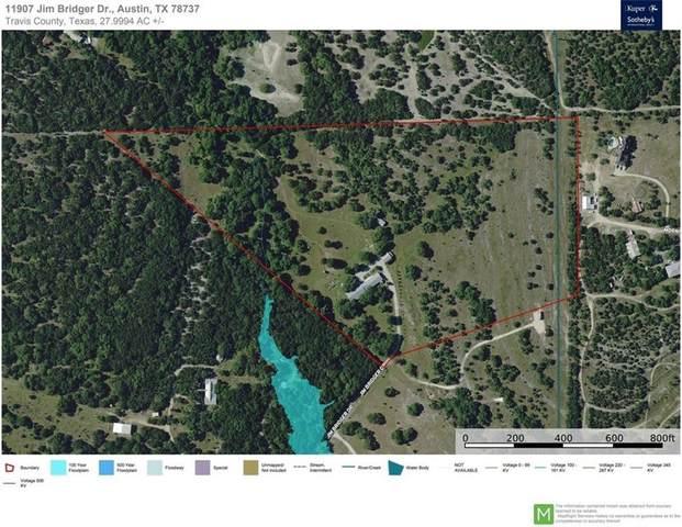 11907 Jim Bridger Dr, Austin, TX 78737 (MLS #4197524) :: Vista Real Estate