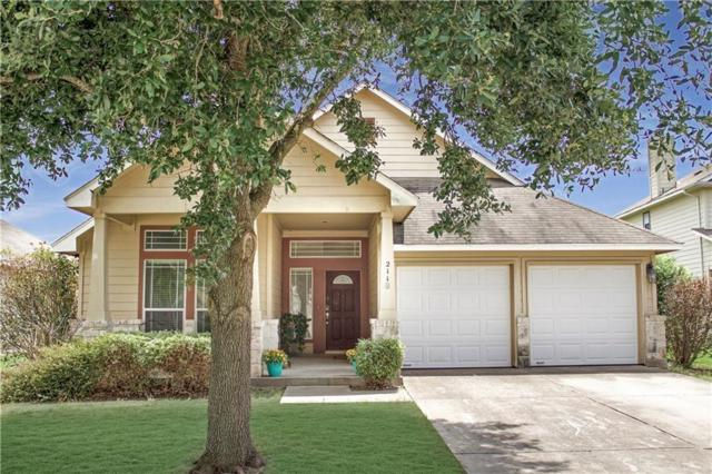 211 Holmstrom St, Hutto, TX 78634 (#4205721) :: The Perry Henderson Group at Berkshire Hathaway Texas Realty