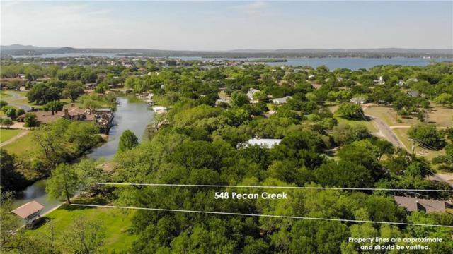 548 Pecan Creek Dr, Horseshoe Bay, TX 78657 (#4279148) :: Ana Luxury Homes