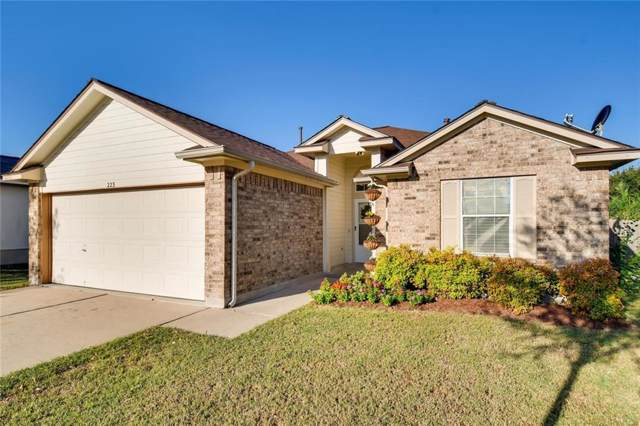 223 Dana Dr, Hutto, TX 78634 (#4293698) :: The Perry Henderson Group at Berkshire Hathaway Texas Realty