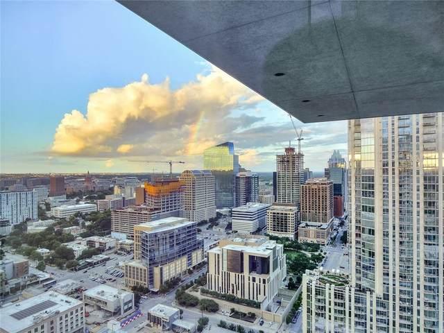 301 West Ave #3303, Austin, TX 78701 (MLS #4447208) :: Brautigan Realty