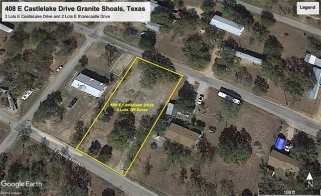 408 E Castlelake Dr, Granite Shoals, TX 78654 (#4447332) :: The Gregory Group