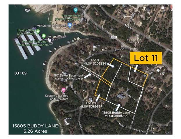 LOT 11 Buddy Ln, Volente, TX 78641 (#4457477) :: Watters International