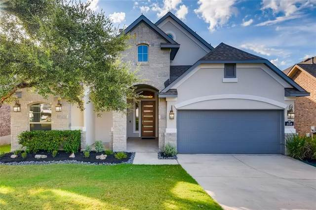 208 Cross Mountain Trl, Georgetown, TX 78628 (#4486957) :: Lancashire Group at Keller Williams Realty