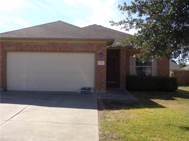 125 Almquist St, Hutto, TX 78634 (#4510488) :: The Heyl Group at Keller Williams