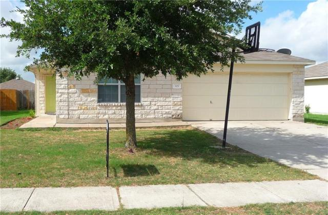 325 Brown St, Hutto, TX 78634 (#4555430) :: RE/MAX Capital City