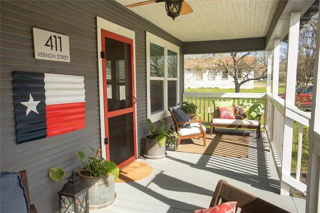 411 Vernon St, Taylor, TX 76574 (#4610007) :: The Heyl Group at Keller Williams