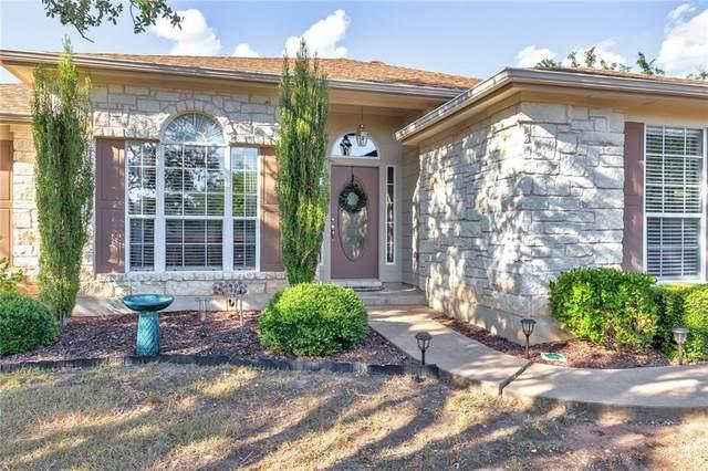 21406 Horseshoe Loop, Lago Vista, TX 78645 (#4628376) :: The Perry Henderson Group at Berkshire Hathaway Texas Realty