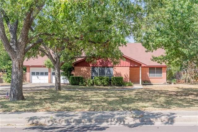 604 E Oak Dr, Round Rock, TX 78664 (#4643595) :: Watters International