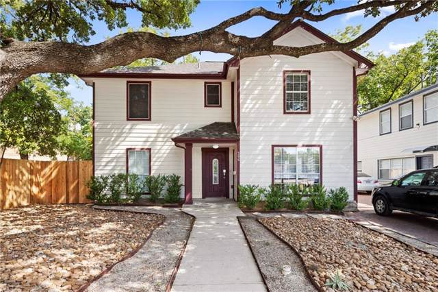 506 W 35th St, Austin, TX 78705 (#4726550) :: The Perry Henderson Group at Berkshire Hathaway Texas Realty