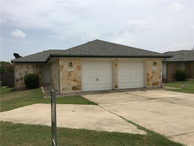 112 Marvin Cv, Hutto, TX 78634 (#4759509) :: Papasan Real Estate Team @ Keller Williams Realty