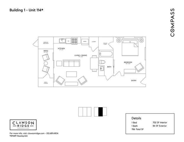 3700 Clawson Rd #114, Austin, TX 78704 (#4799772) :: Sunburst Realty
