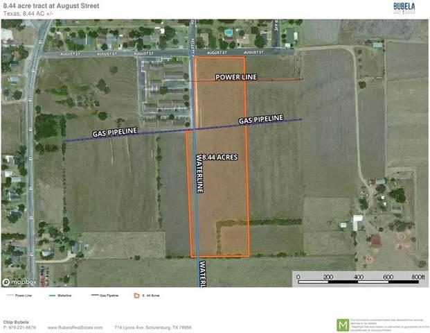 00 August St, Schulenburg, TX 78956 (#4823587) :: The Heyl Group at Keller Williams