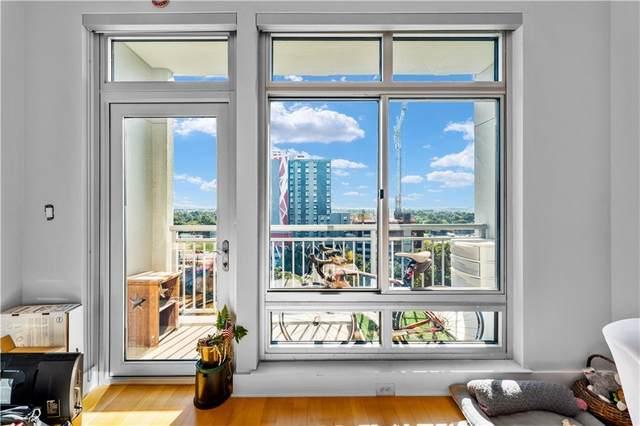 603 Davis St #1105, Austin, TX 78701 (#4842653) :: Ben Kinney Real Estate Team