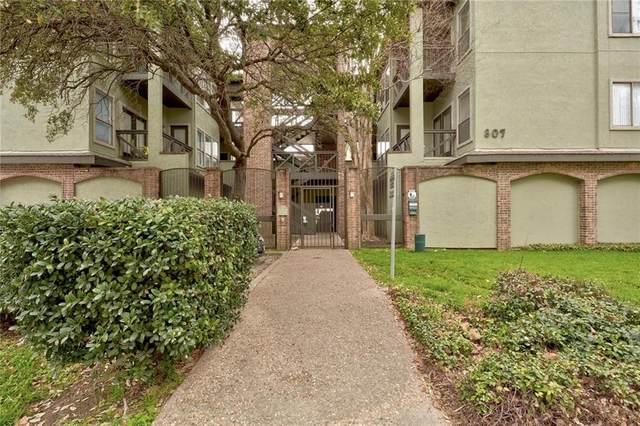 807 25th St #305, Austin, TX 78705 (#4862942) :: Douglas Residential