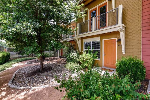 1101 Grove Blvd #103, Austin, TX 78741 (#4888382) :: Watters International
