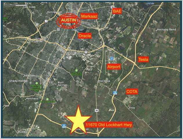 11670 Old Lockhart Highway, Creedmoor, TX 78610 (MLS #4890574) :: Brautigan Realty