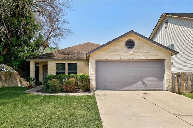 1191 Forest Bluff Trl, Round Rock, TX 78665 (#4899991) :: Ben Kinney Real Estate Team