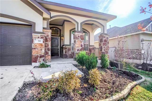 717 Blue Agave Ln, Georgetown, TX 78626 (#4916179) :: Service First Real Estate