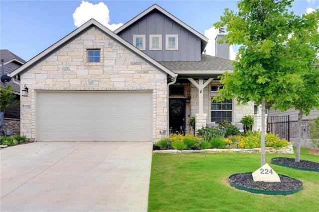 224 Russet Trl, Georgetown, TX 78628 (MLS #5101265) :: Brautigan Realty