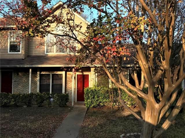 11404 Walnut Ridge Dr #102, Austin, TX 78753 (MLS #5141800) :: Vista Real Estate