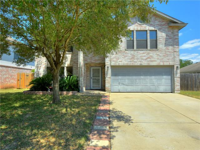 820 Betterman Dr, Pflugerville, TX 78660 (#5196325) :: The Gregory Group