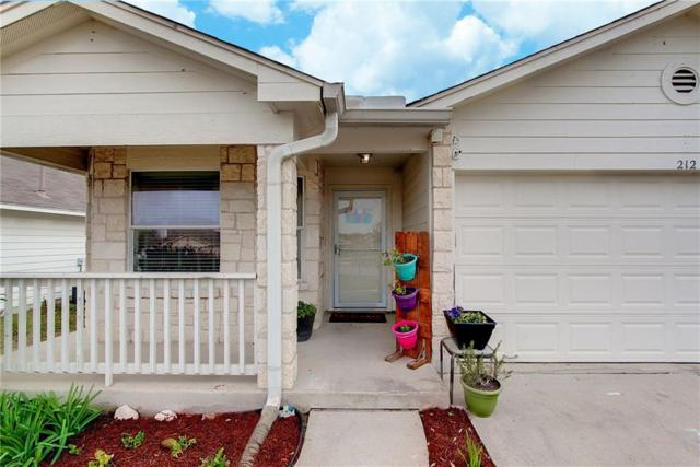 212 Fistral Dr, Hutto, TX 78634 (#5204527) :: 12 Points Group