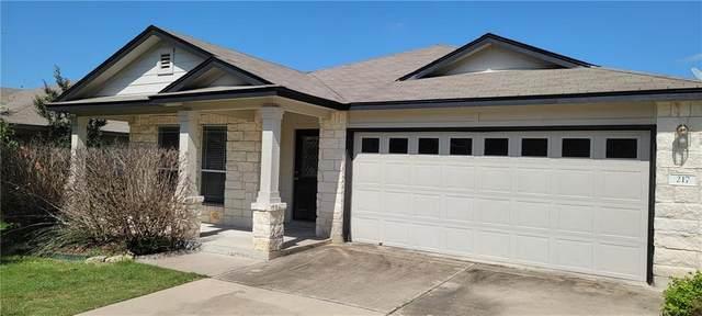 217 Baldwin St, Hutto, TX 78634 (#5214769) :: The Myles Group | Austin