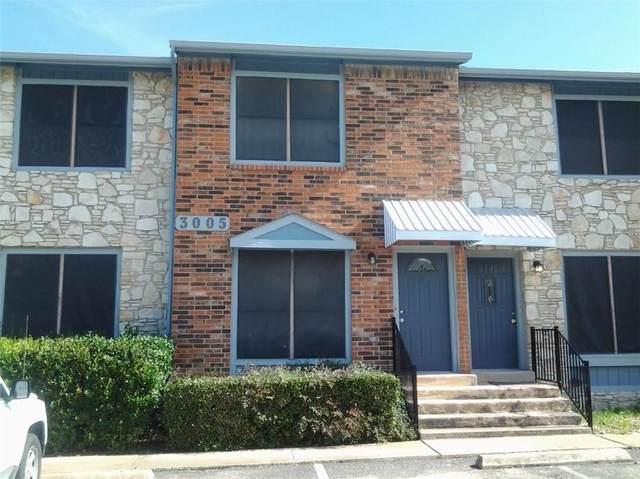 3005 Whisper Oaks Ln F, Georgetown, TX 78628 (#5240454) :: The Summers Group