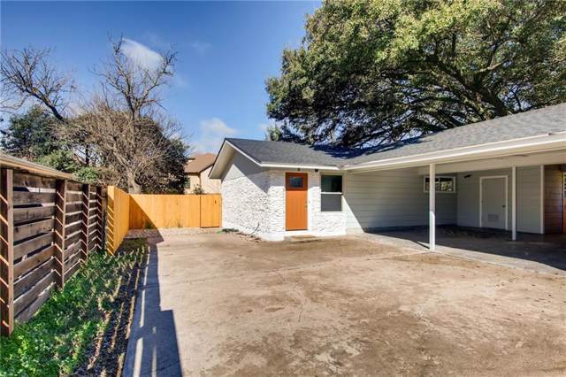 4908 Rowena #B Ave B, Austin, TX 78751 (#5327160) :: RE/MAX Capital City