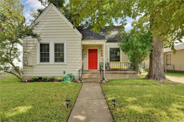 1010 E 38th St, Austin, TX 78705 (#5357217) :: The ZinaSells Group