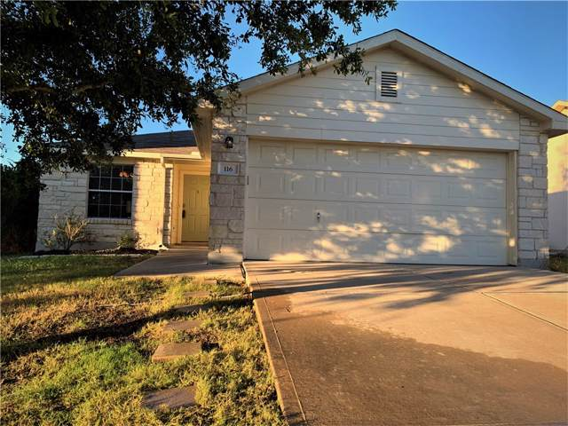 116 Phillips St, Hutto, TX 78634 (#5394148) :: The Perry Henderson Group at Berkshire Hathaway Texas Realty