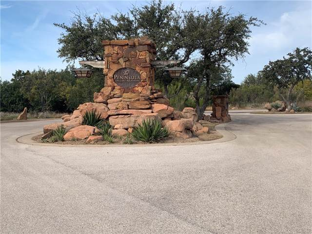 0014 Peninsula, Burnet, TX 78611 (#5425576) :: The Perry Henderson Group at Berkshire Hathaway Texas Realty