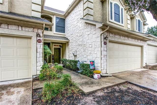 3300 Forest Creek Dr #38, Round Rock, TX 78664 (#5481377) :: The Gregory Group