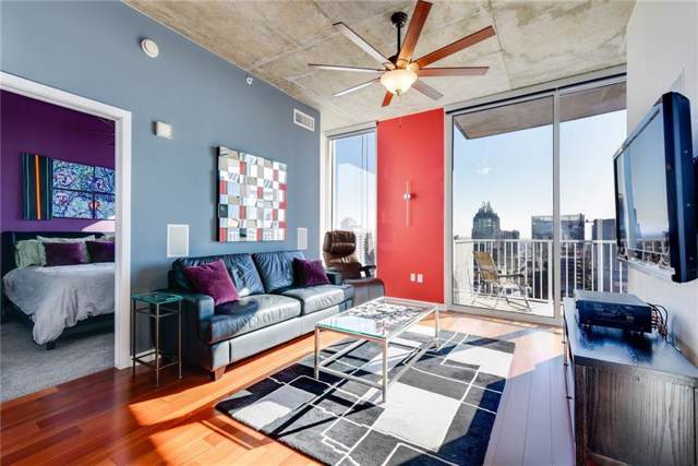 360 Nueces St #3009, Austin, TX 78701 (#5494986) :: The Perry Henderson Group at Berkshire Hathaway Texas Realty