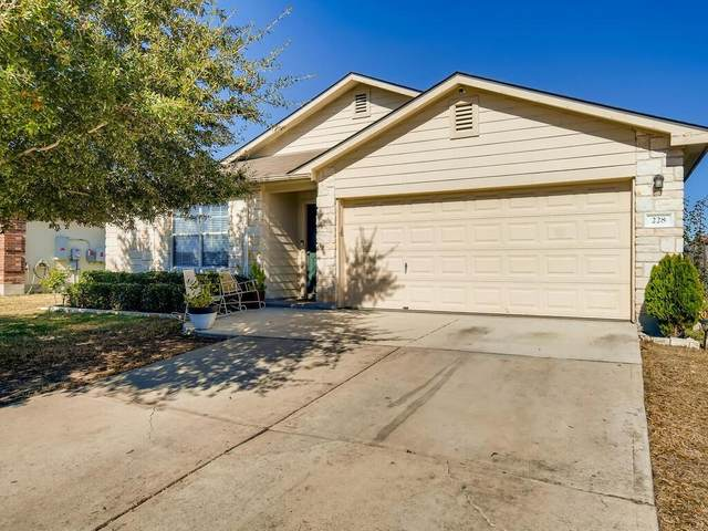 228 Almquist St, Hutto, TX 78634 (#5551669) :: Realty Executives - Town & Country