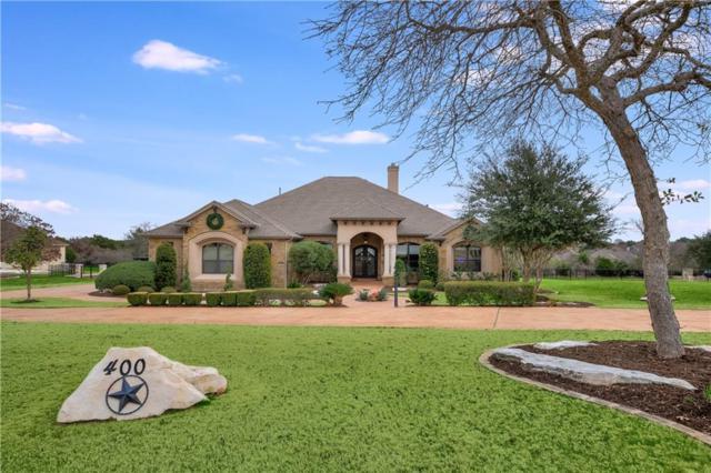 400 W Majestic Oak Ln, Georgetown, TX 78633 (#5626137) :: Amanda Ponce Real Estate Team