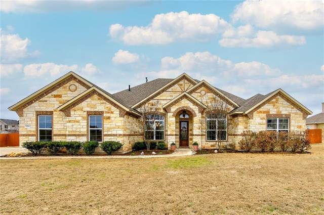 124 W Vienna Dr, Hutto, TX 78634 (#5634843) :: Papasan Real Estate Team @ Keller Williams Realty
