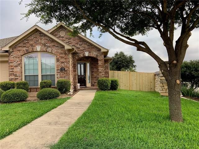 408 E Nakoma, Hutto, TX 78634 (#5724028) :: The Perry Henderson Group at Berkshire Hathaway Texas Realty