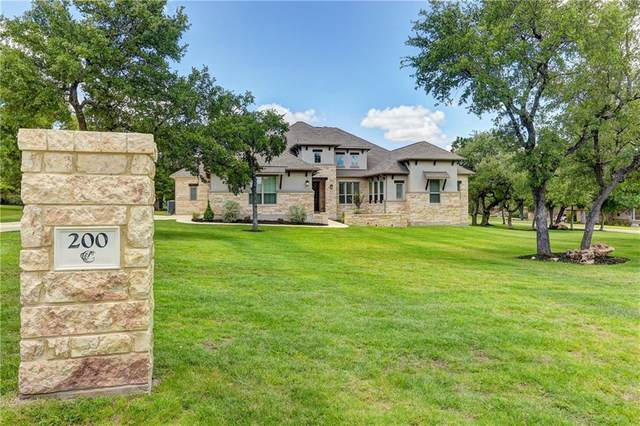 200 Gabriel Woods Dr, Georgetown, TX 78633 (#5741665) :: The Perry Henderson Group at Berkshire Hathaway Texas Realty