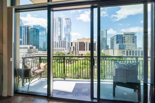 311 W 5th St #602, Austin, TX 78701 (#5778199) :: Ben Kinney Real Estate Team