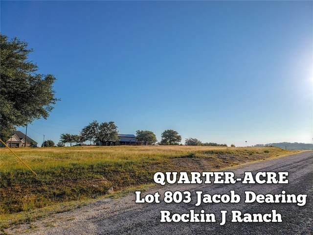 Lot 803 Jacob Dearing, Blanco, TX 78606 (#5813423) :: R3 Marketing Group