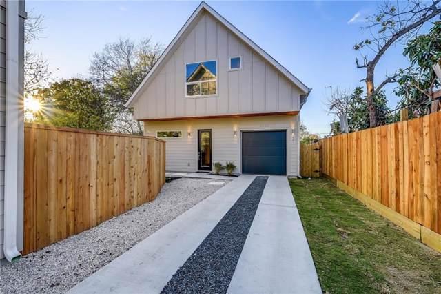 1120 Omega St #2, Austin, TX 78721 (#5854663) :: Ana Luxury Homes