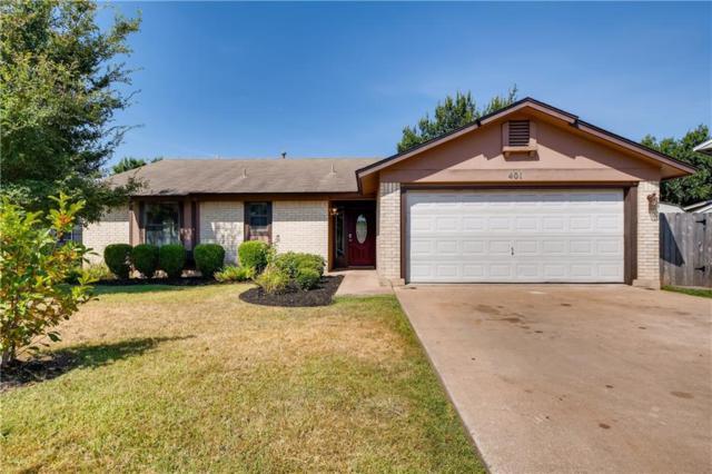 401 Oakridge Pass, Cedar Park, TX 78613 (#5897033) :: The Heyl Group at Keller Williams
