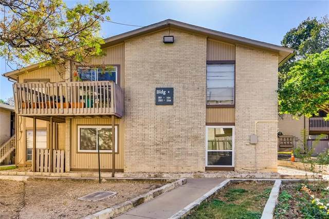 2124 Burton Dr #162, Austin, TX 78741 (#5917554) :: First Texas Brokerage Company