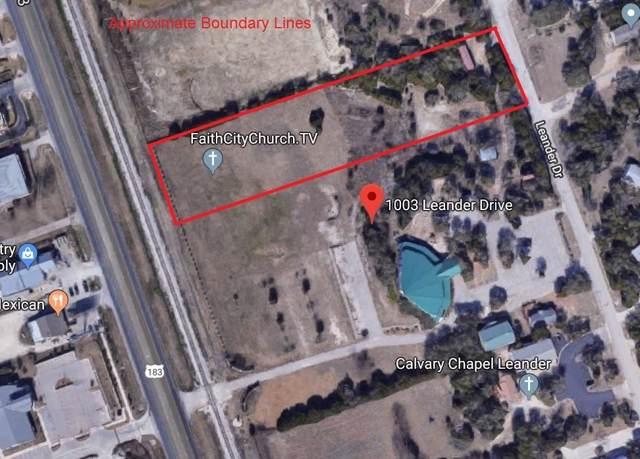 1003 Leander Dr, Leander, TX 78641 (MLS #5935204) :: Vista Real Estate